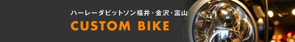 ハーレーダビットソン福井・金沢・富山 CUSTOM BIKE